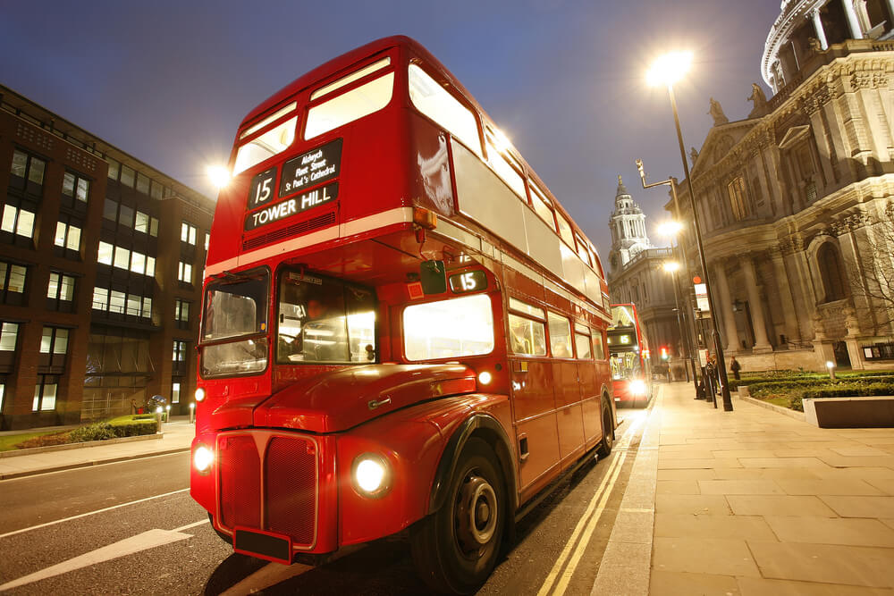 London's iconic Routemaster Bus