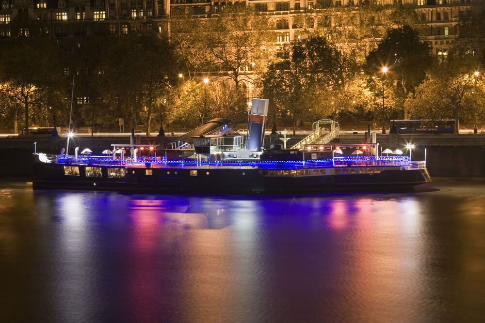 Party Boat on The Thames