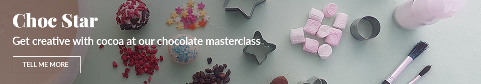 Become a Choc Star at our chocolate masterclass