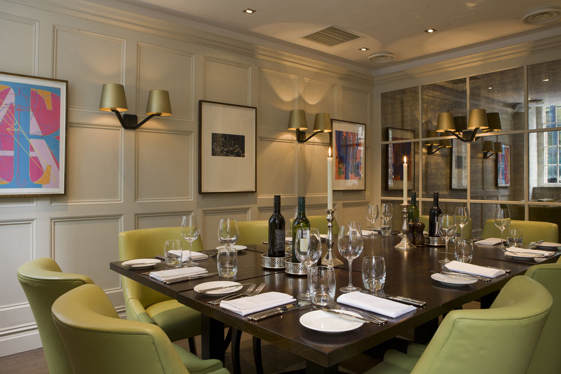chiswell street dining rooms at the montcalm at the brewery london