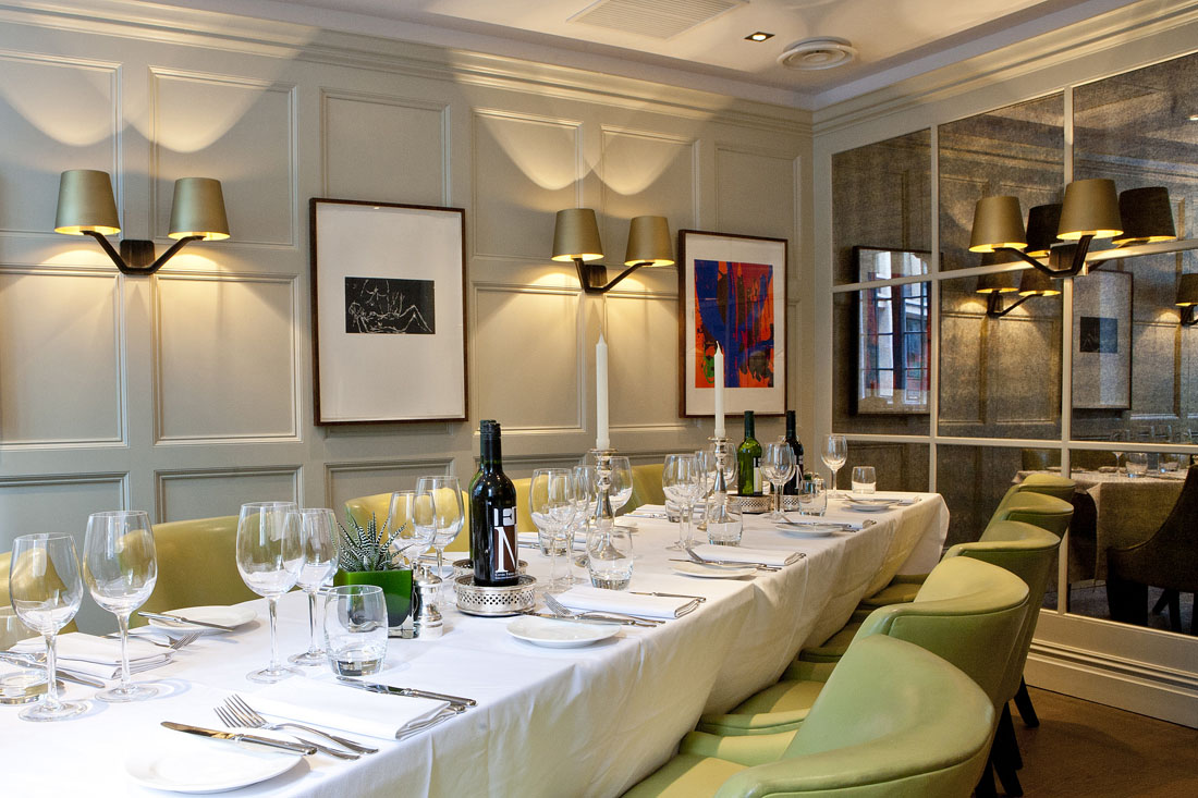 Chiswell Street Dining Rooms At The Montcalm Brewery London City