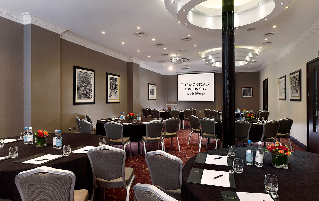 The Montcalm at The Brewery London City meeting events 08